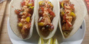 Mmm Fish Tacos! These are a panty dropper